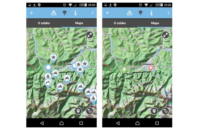 mapa w aplikacji twój tpn
