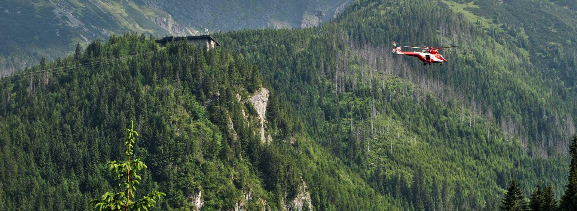 pomoc w górach