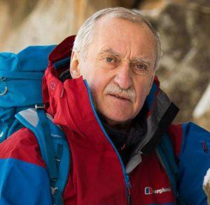 Krzysztof Wielicki w górach