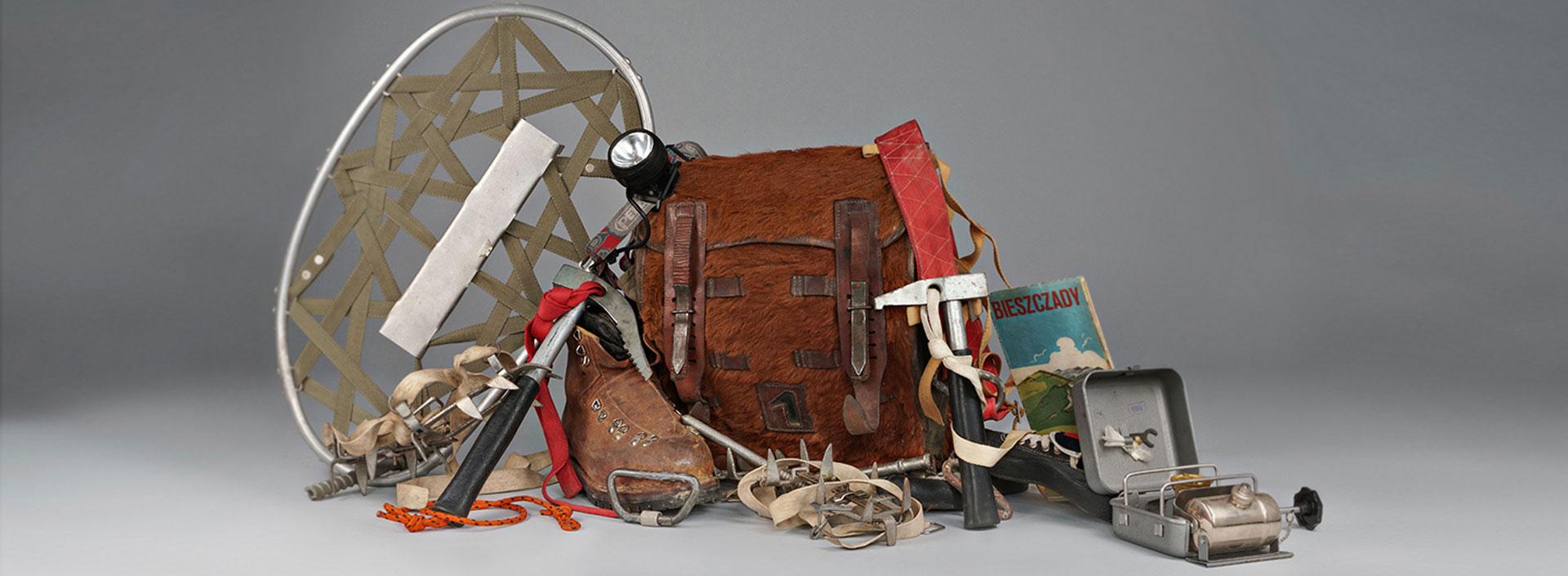 historia sprzętu turystycznego