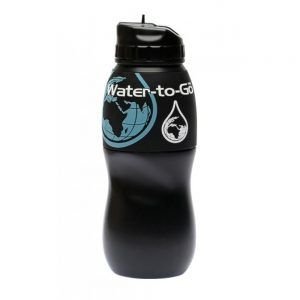 Butelka na wodę firmy Water-to-Go z filtrem węglowym