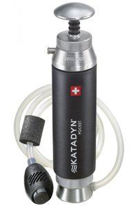 Ceramiczny filtr do wody firmy Katadyn, model Pocket