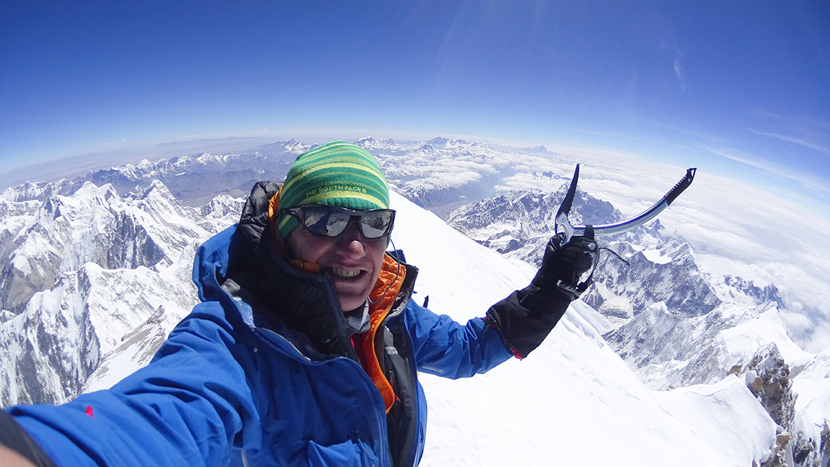 Denis Urubko w górach