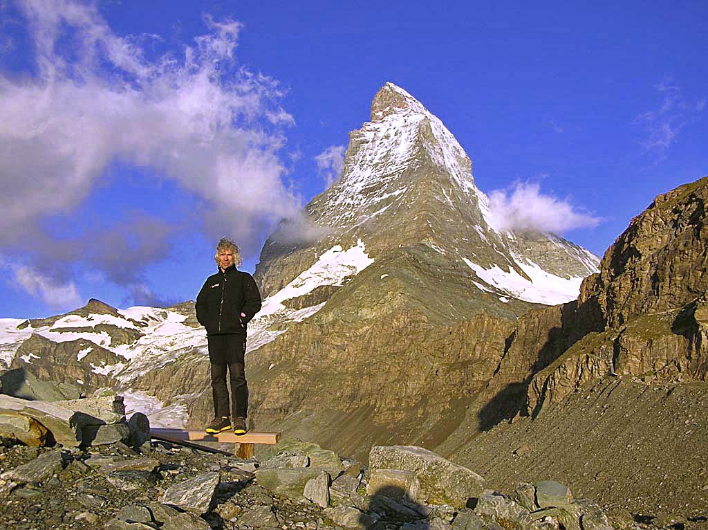 Alek Lwow w górach