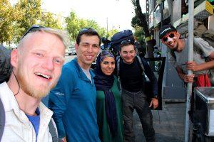 Irańczycy, których nie przeził autostop