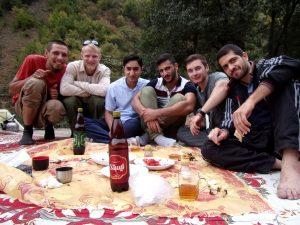 Wspólny piknik z Irańczykami
