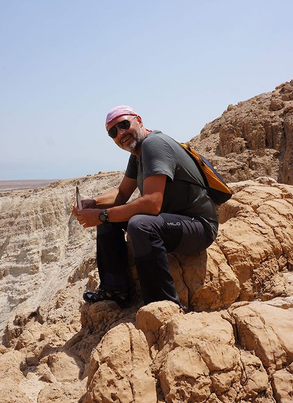 Wzgórza wokół Qumran