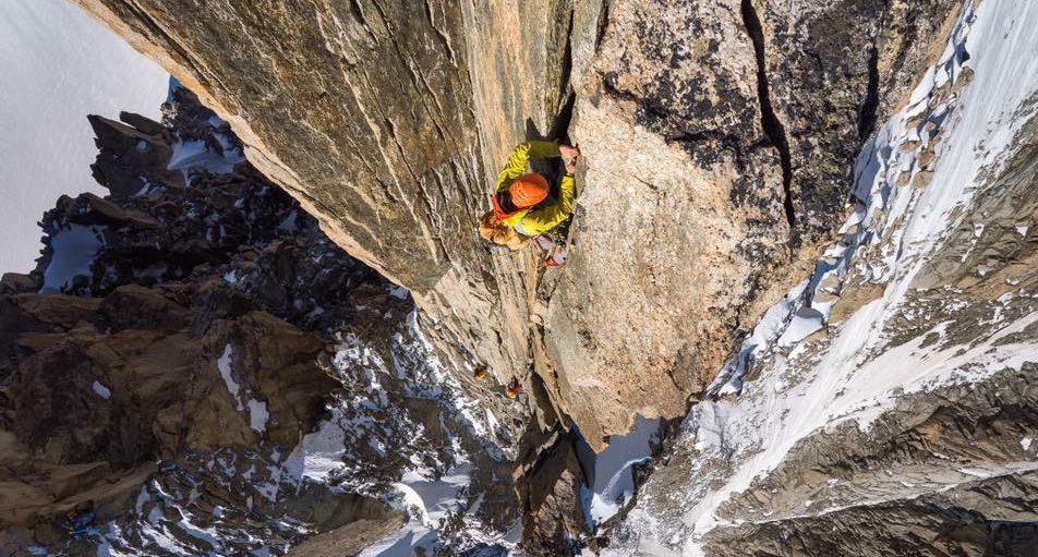 Maciek ciesielski alpinist