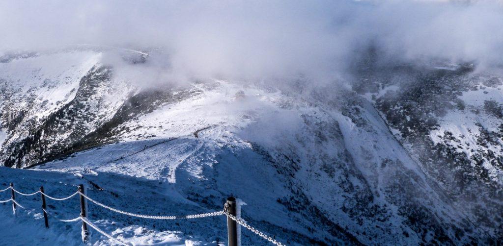 Szlak zimowy na Śnieżkę