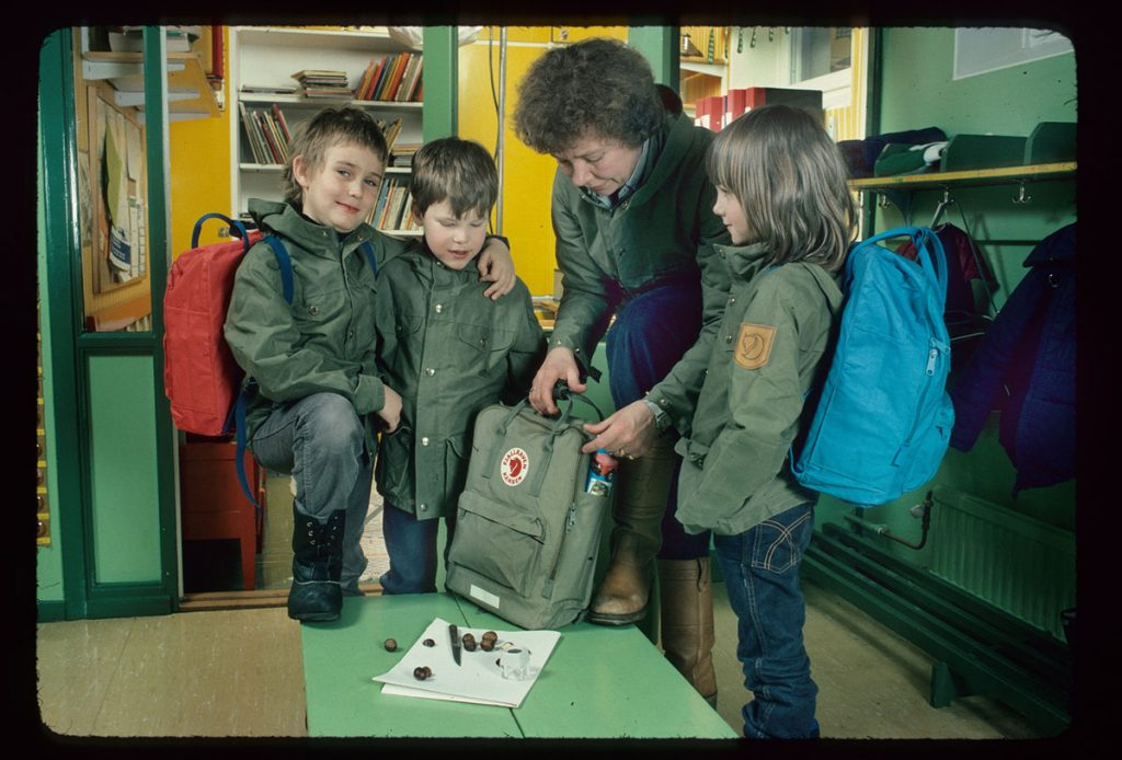 dzieci i plecaki Kanken