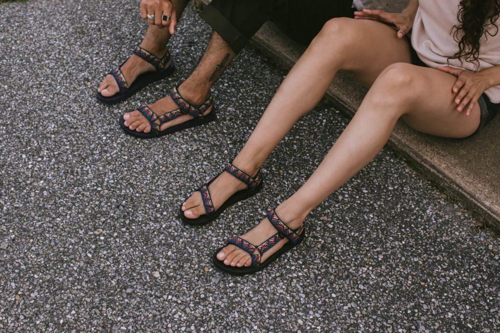 Sandały męskie i damskie Teva