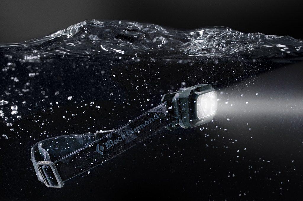 wodoodporność czołówka black diamond