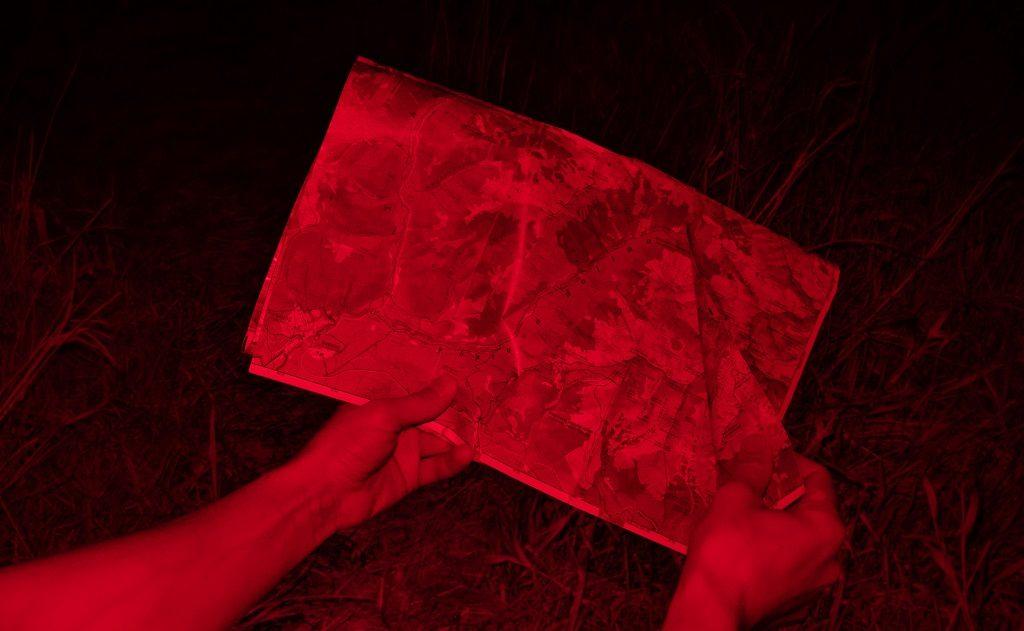 czerwony tryb czołówka