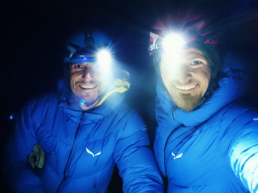 Alpine Wall Tour w ciemnościach