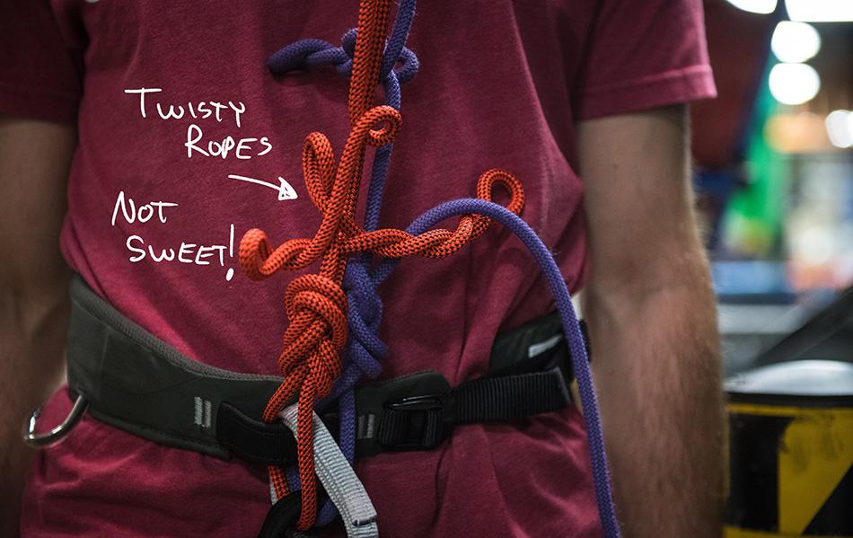 QC Lab - skręcanie liny