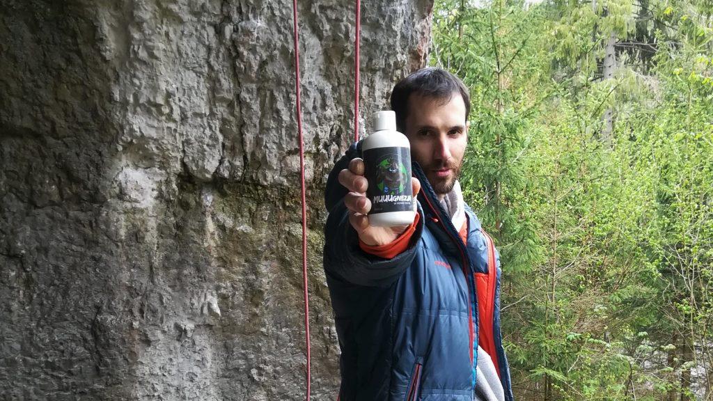 magnezja do wspinaczki w skałach