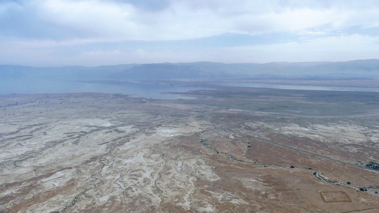 Masada - widok na morze