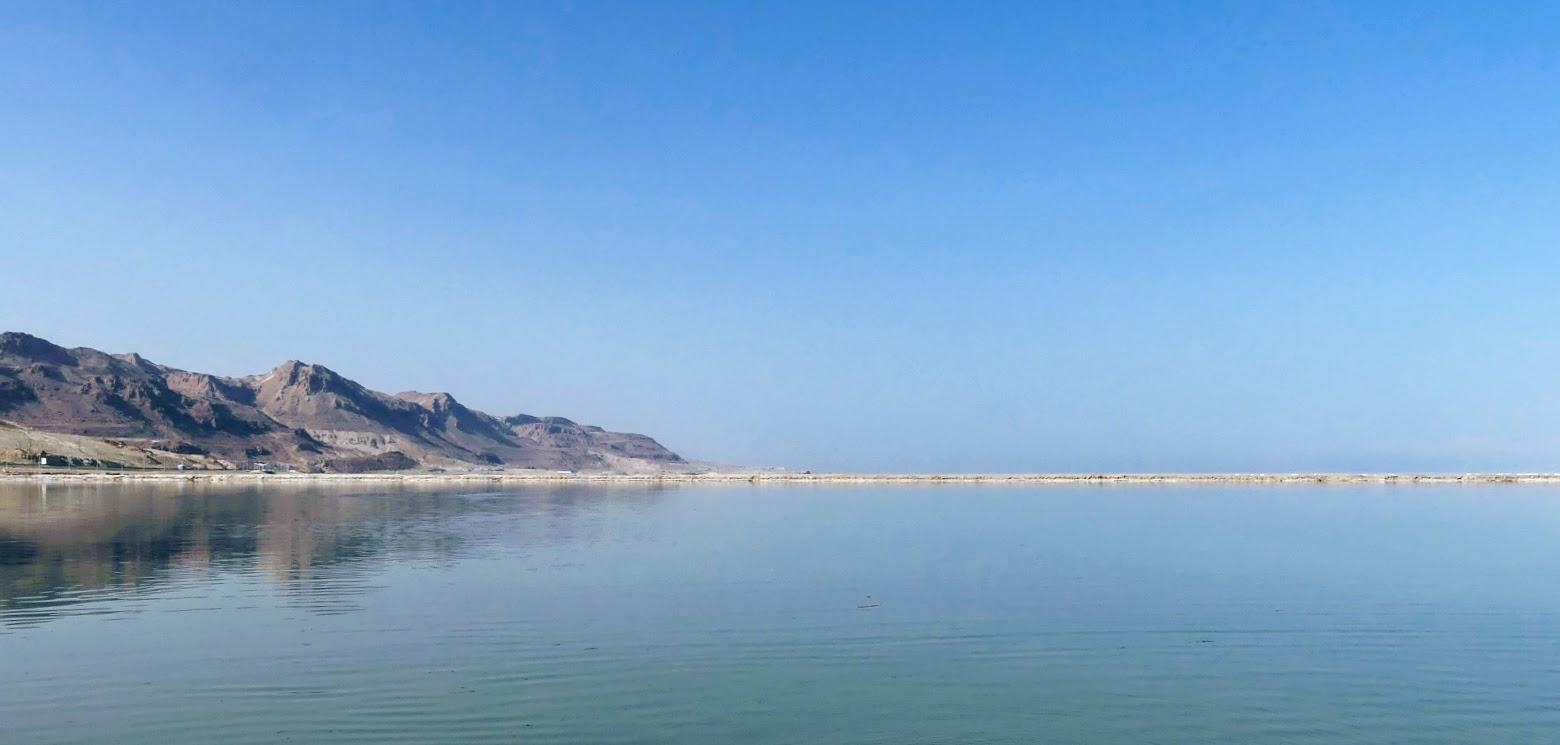 Morze Martwe - darmowa plaża