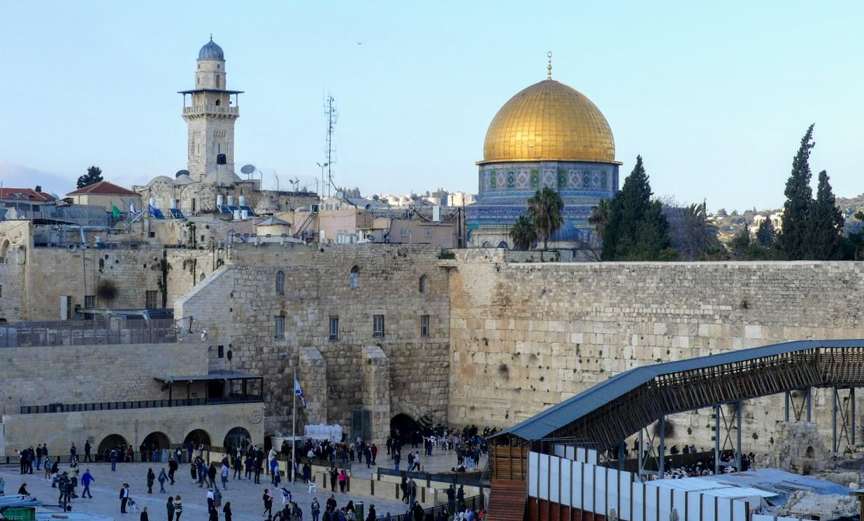 izrael sciana placzu