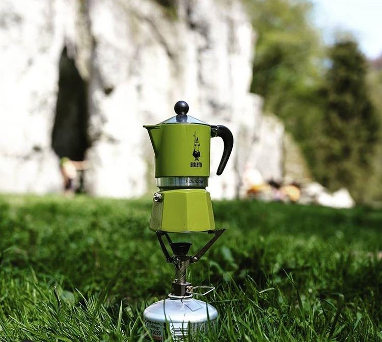kawa w górach