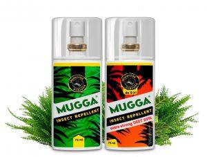 Mugga repelenty na komary