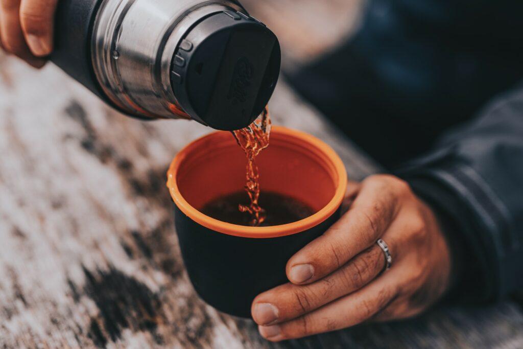 Termos na herbatę - test Esbit