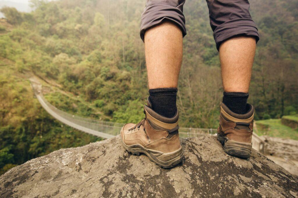 Buty trekkingowe latem