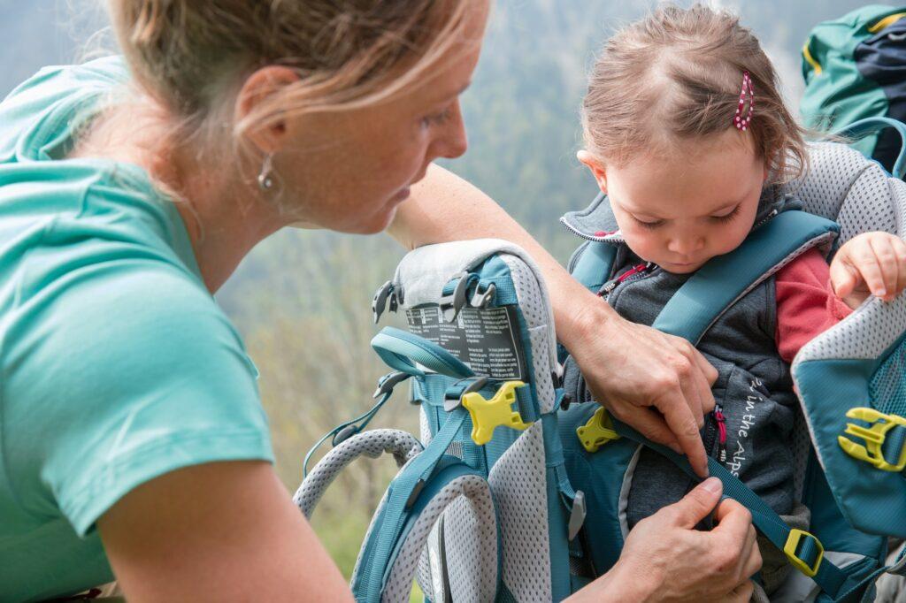 Nosidełko dla dziecka w góry