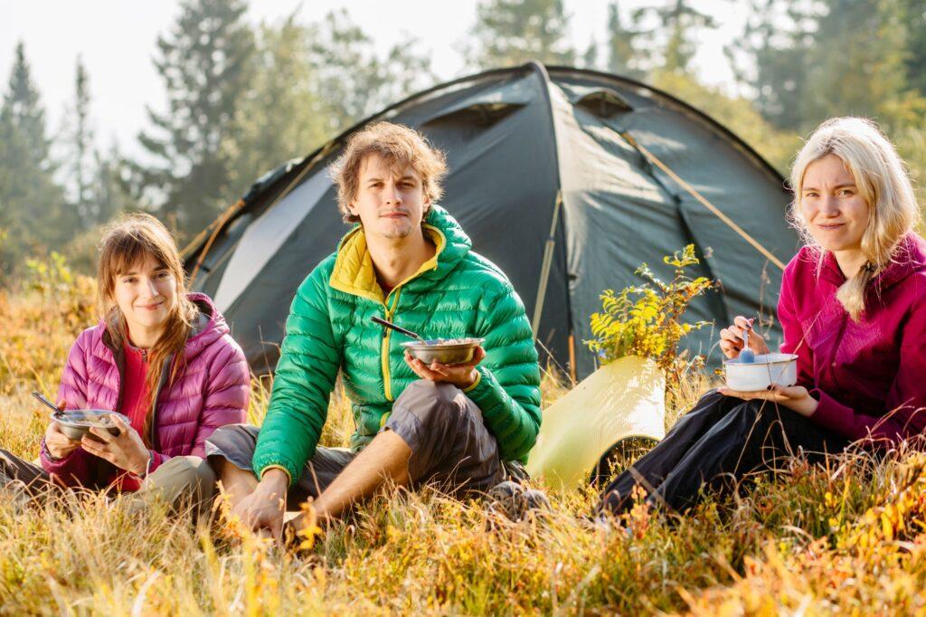 Namiot dla trzech osób