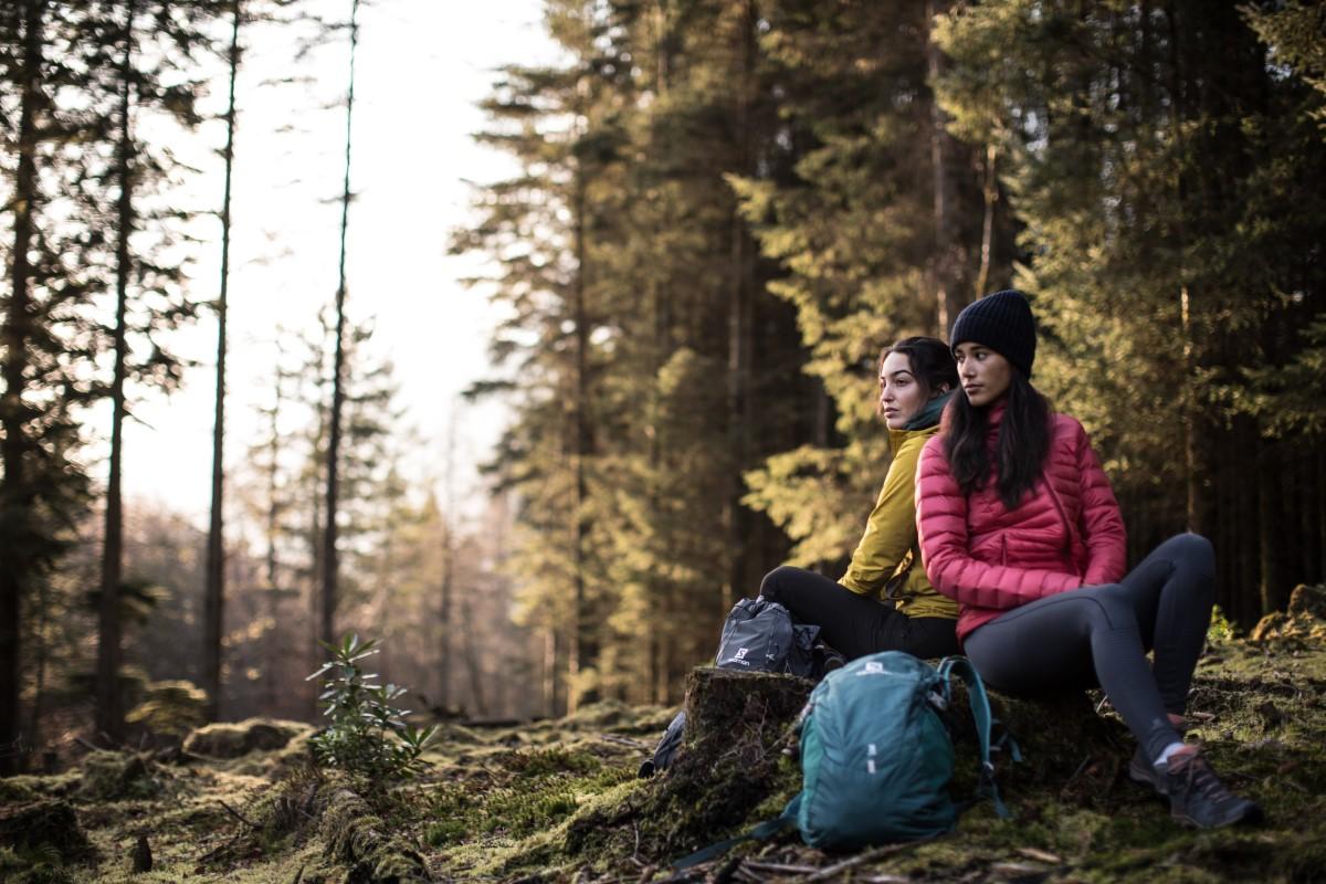 Salomon dwie kobiety w górach