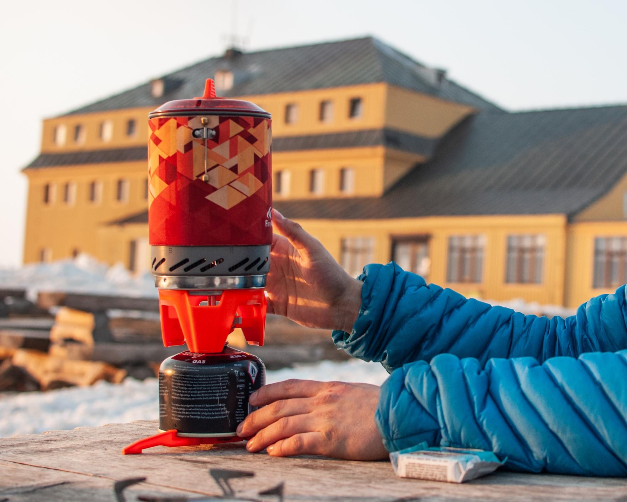 Kartusz gazowy na zimę fot Mateusz Malinowski