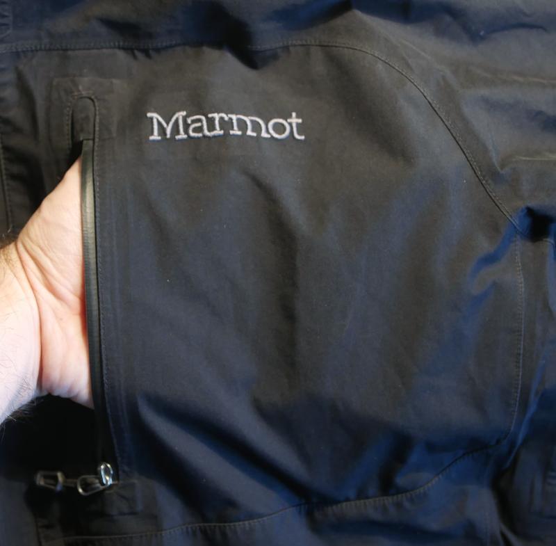 Marmot czarna kurtka