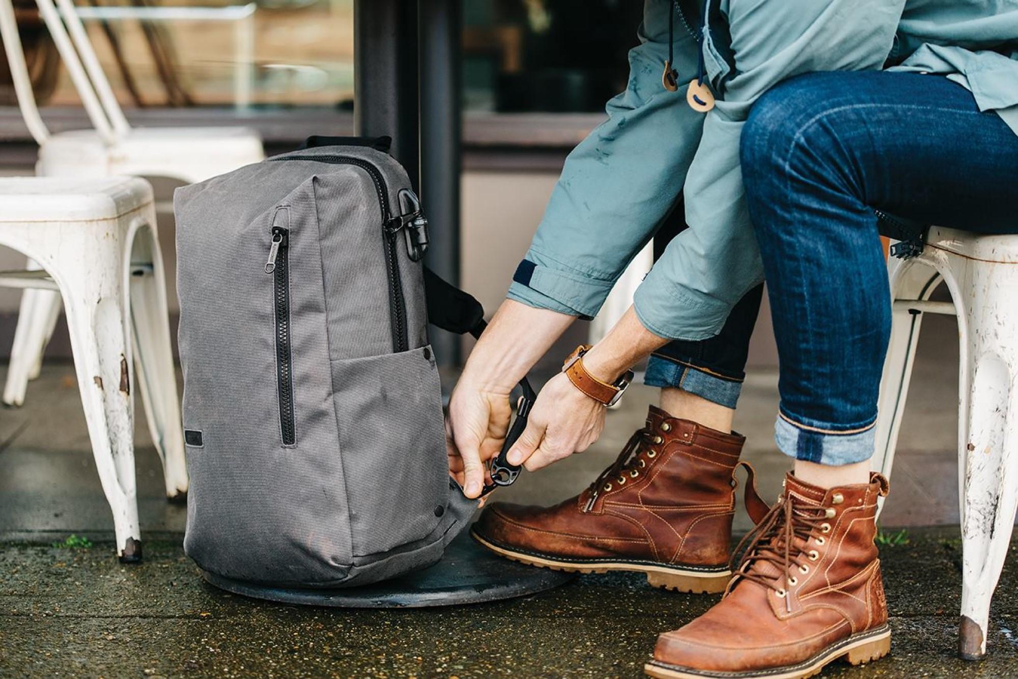 Pacsafe zabezpieczenia antykradzieżowe w plecakach