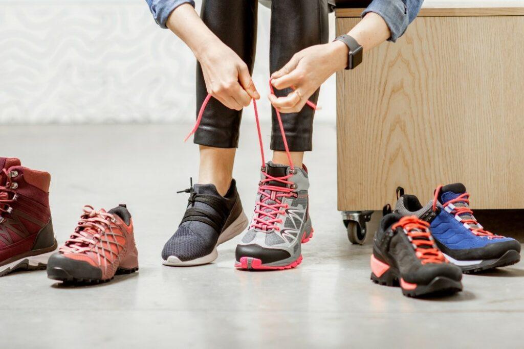 wybór butów w góry