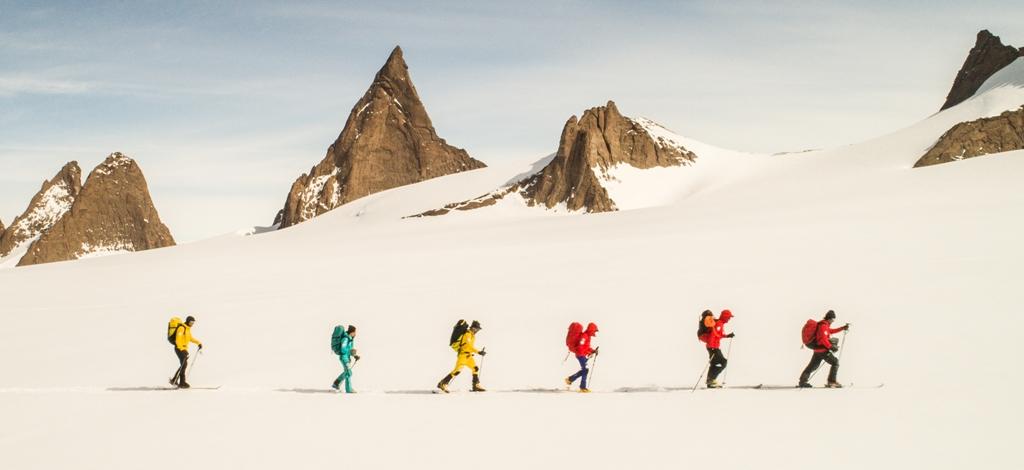 Plecaki The North Face zimą