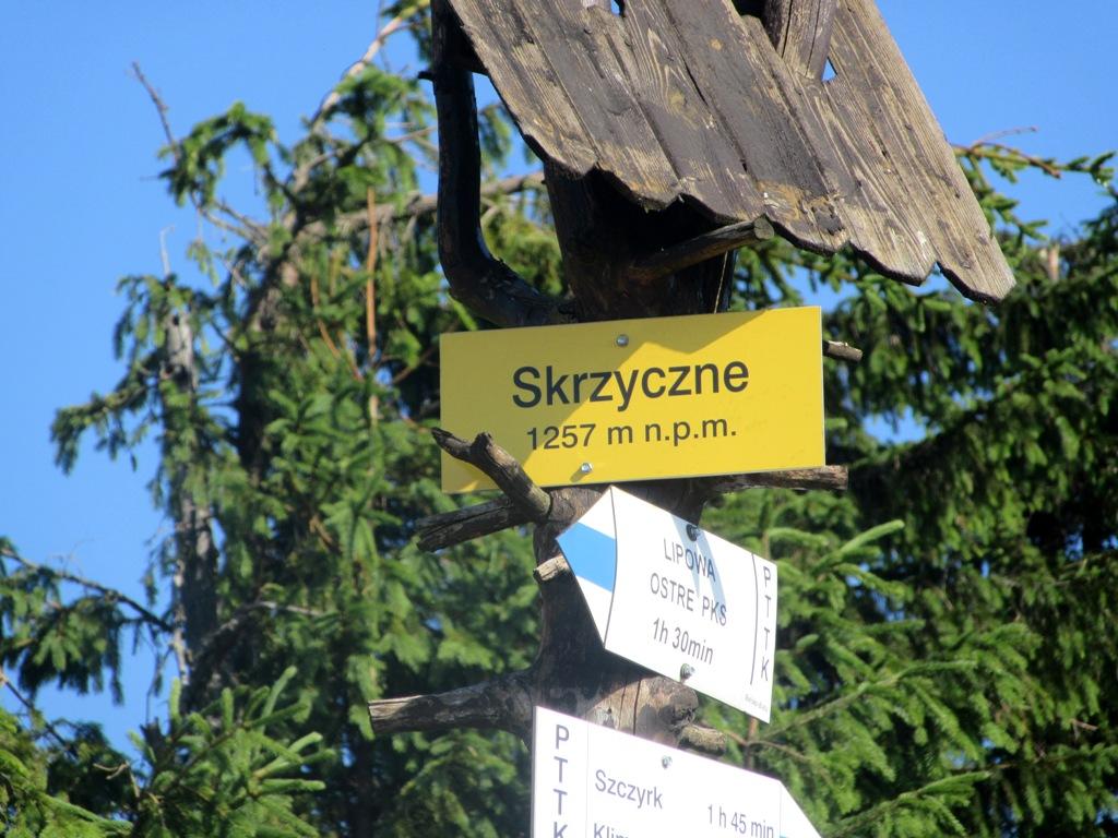 Skrzyczne - szczyt Korony Gór Polski