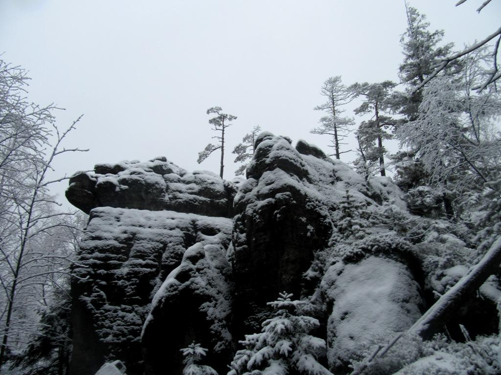Szczeliniec - szczyt Korony Gór Polski