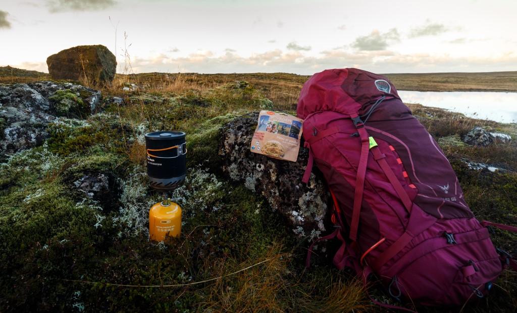Islandia żywność liofilizowana Voyager