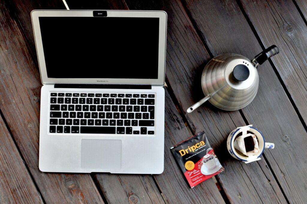 Dripca to także sposób na kawę w domu.