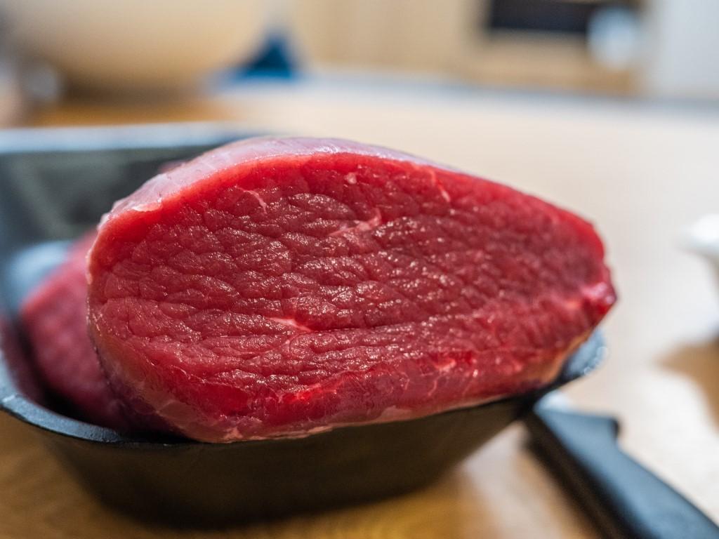 świeża wołowina na beef jerky