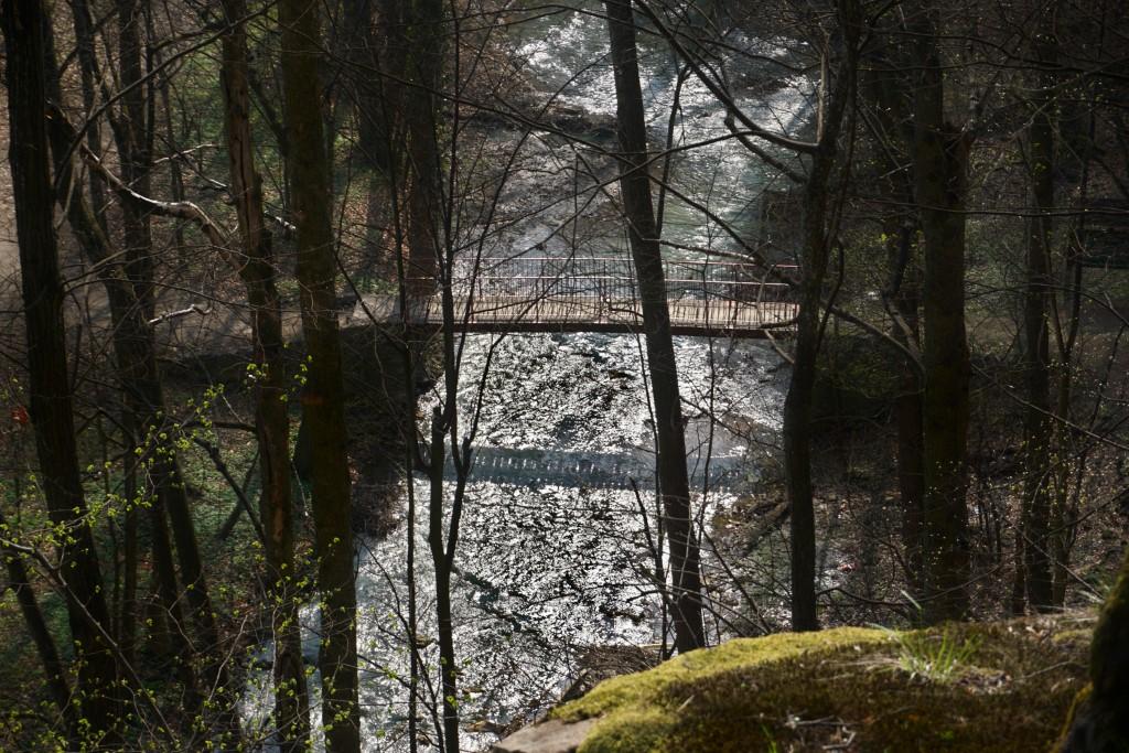 ścieżka hochbergów mostek na pełcznicy