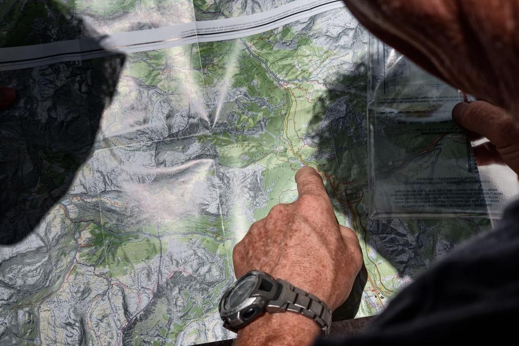 Planowanie trasy z mapą
