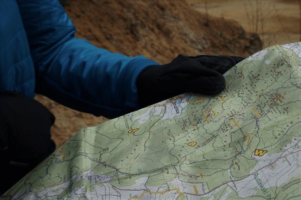 mapa turystyczna planowanie wycieczki