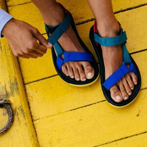 Kultowe sandały turystyczne marki TEVA