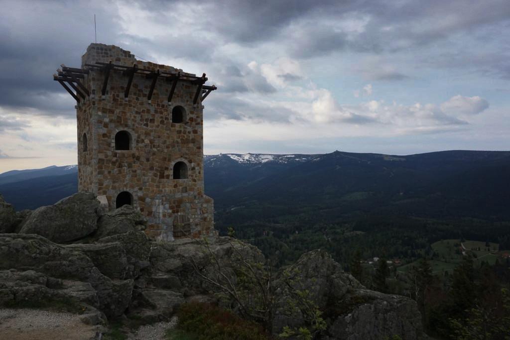 wysoki kamień góry izerskie
