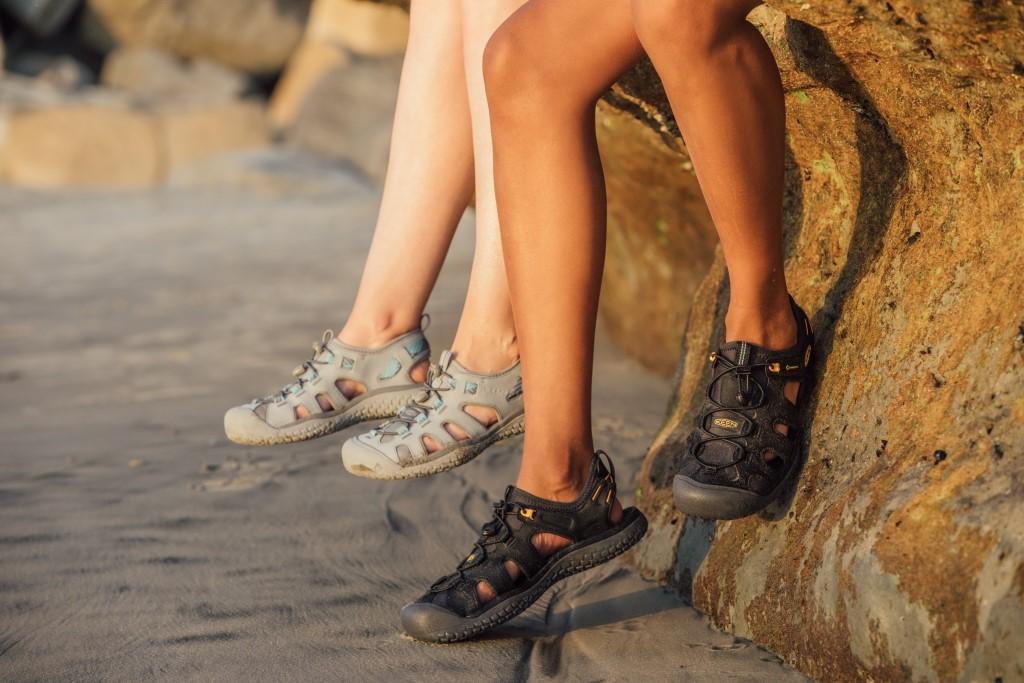 Sandały zabudowane Keen