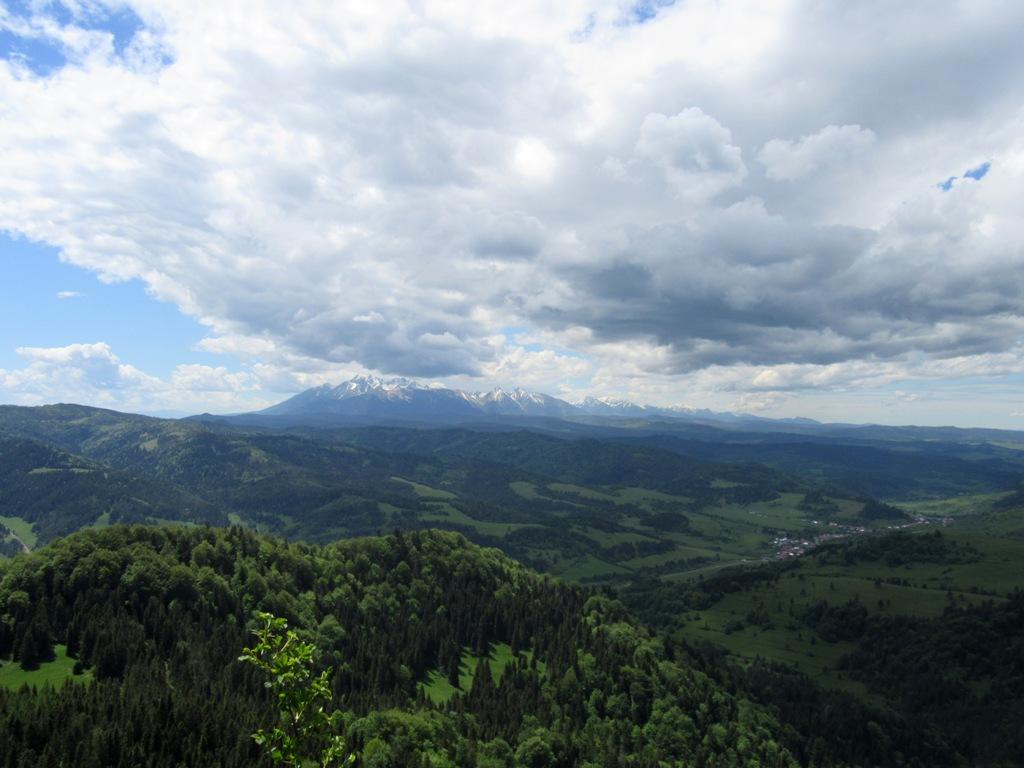Wysoka - widok na Tatry
