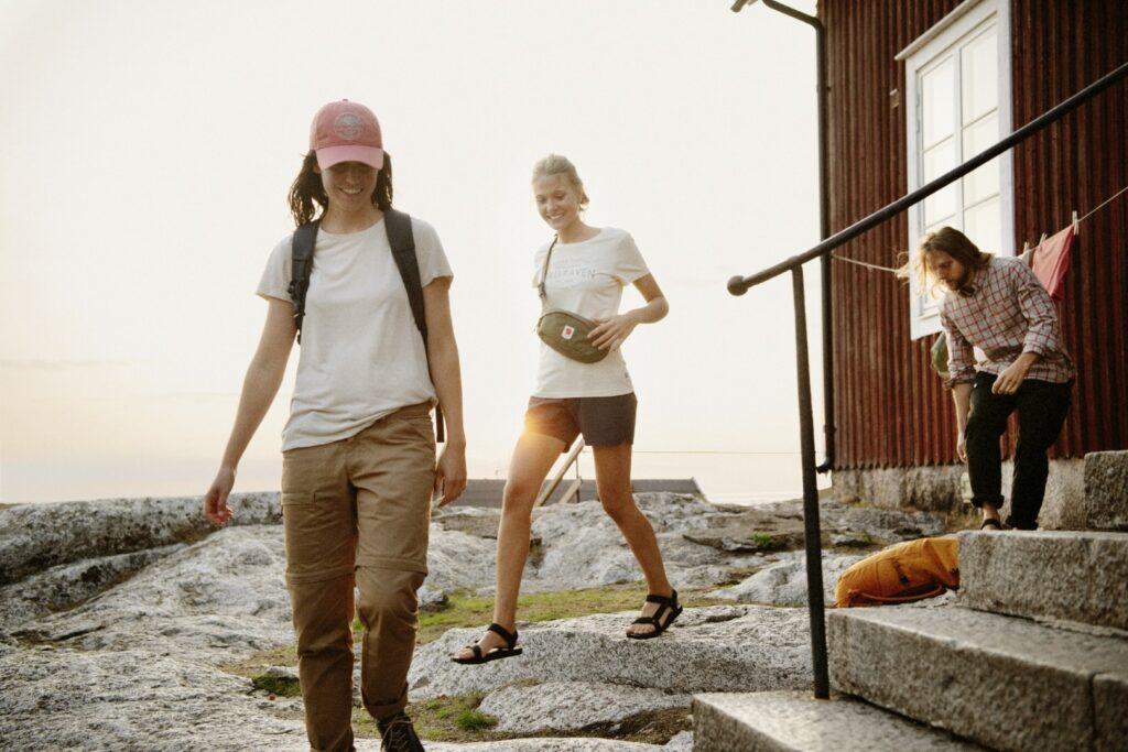 Spodnie turystyczne Fjallraven