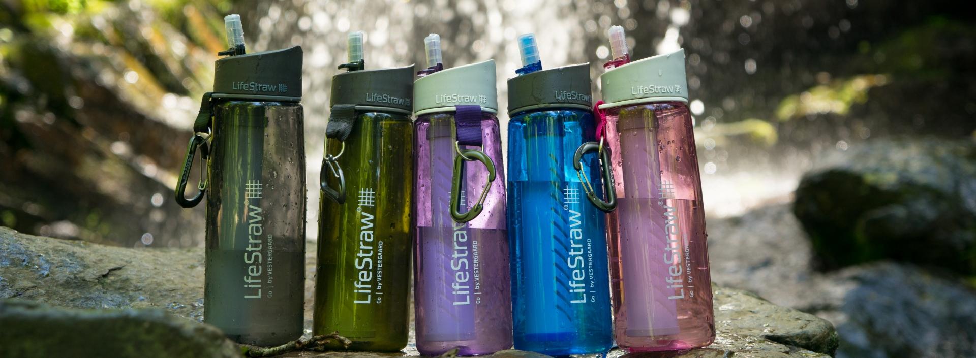 Butelki na wodę LifeStraw
