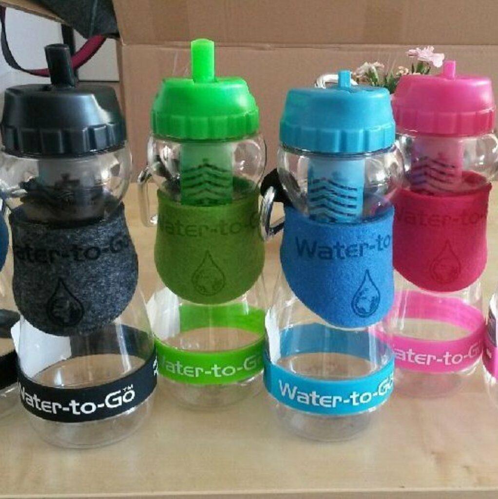 Butelki na wodę Water to Go